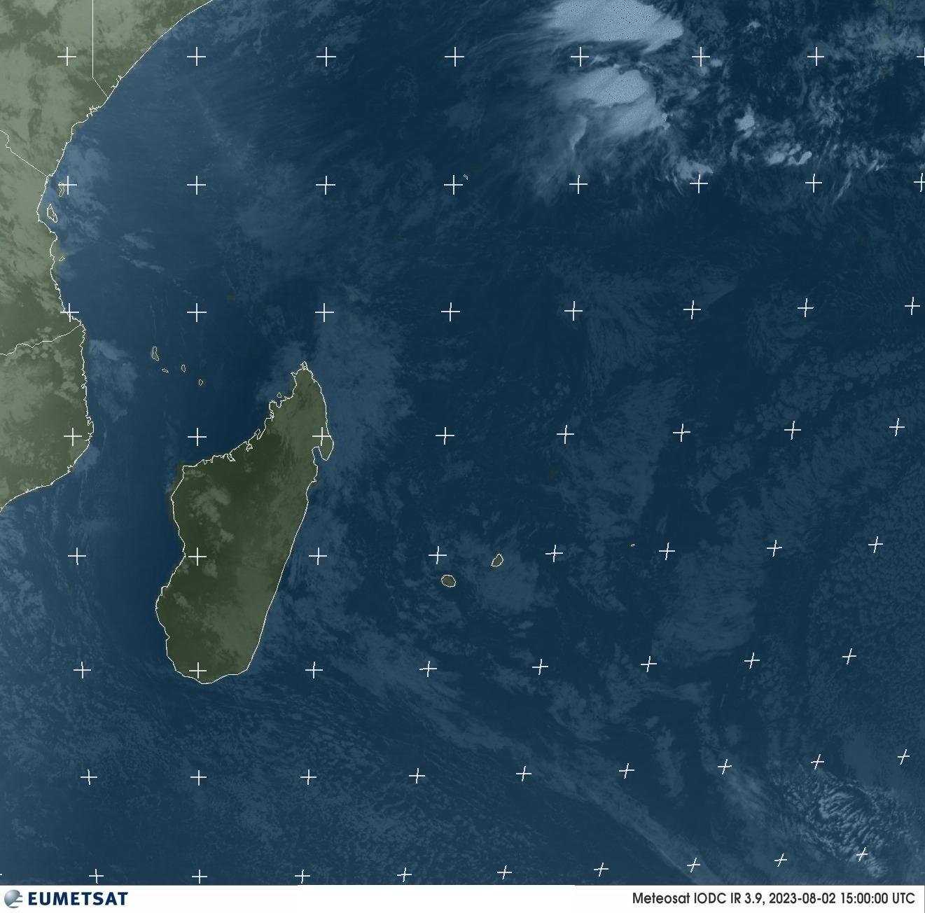 Une image satellite Océan Indien ©EUMETSAT 2019