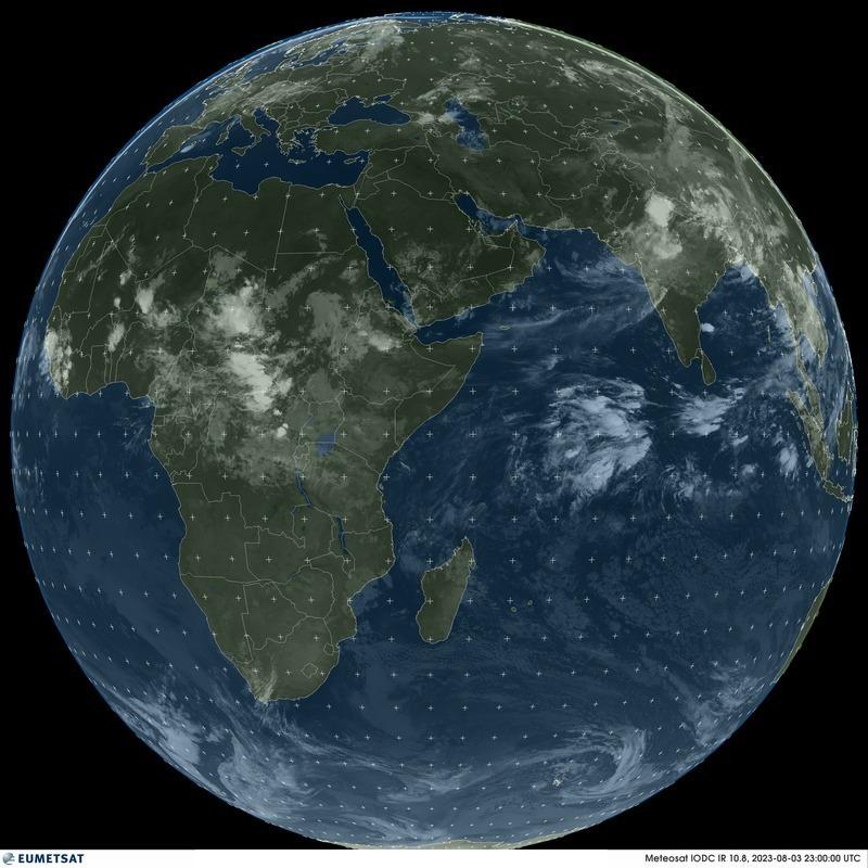 Meteosat 5 - 지구 전구 - 적외