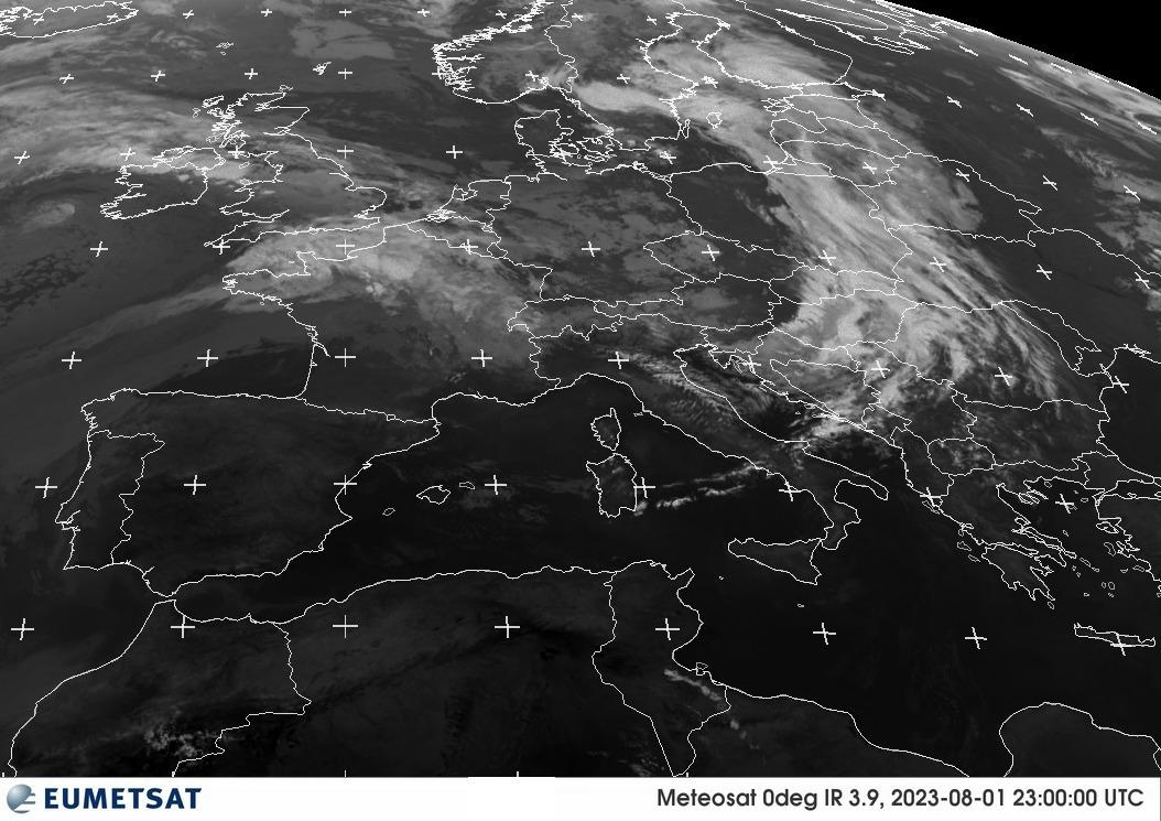 Meteosat - IR1 © EUMETSAT