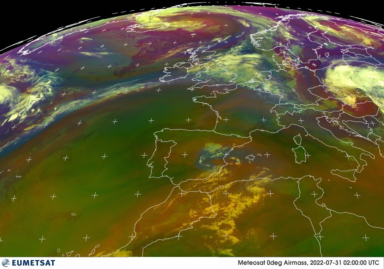 Eumetsat - Air Mass