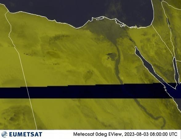 Meteosat - RGB : Egipt