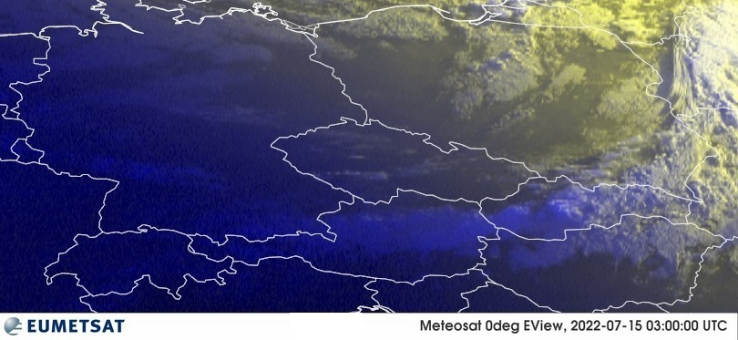 Meteosat - RGB : Germany, Poland, Czech Republic, Austria, Slovakia, Hungary, Switzerland