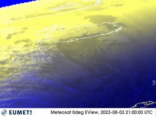 Meteosat - RGB : Island