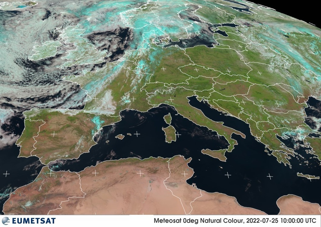 Meteosat - Europe - RGB