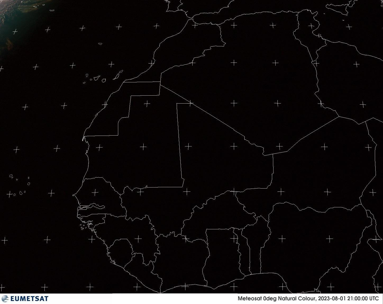 Meteosat - Vakarų Afrika - RGB