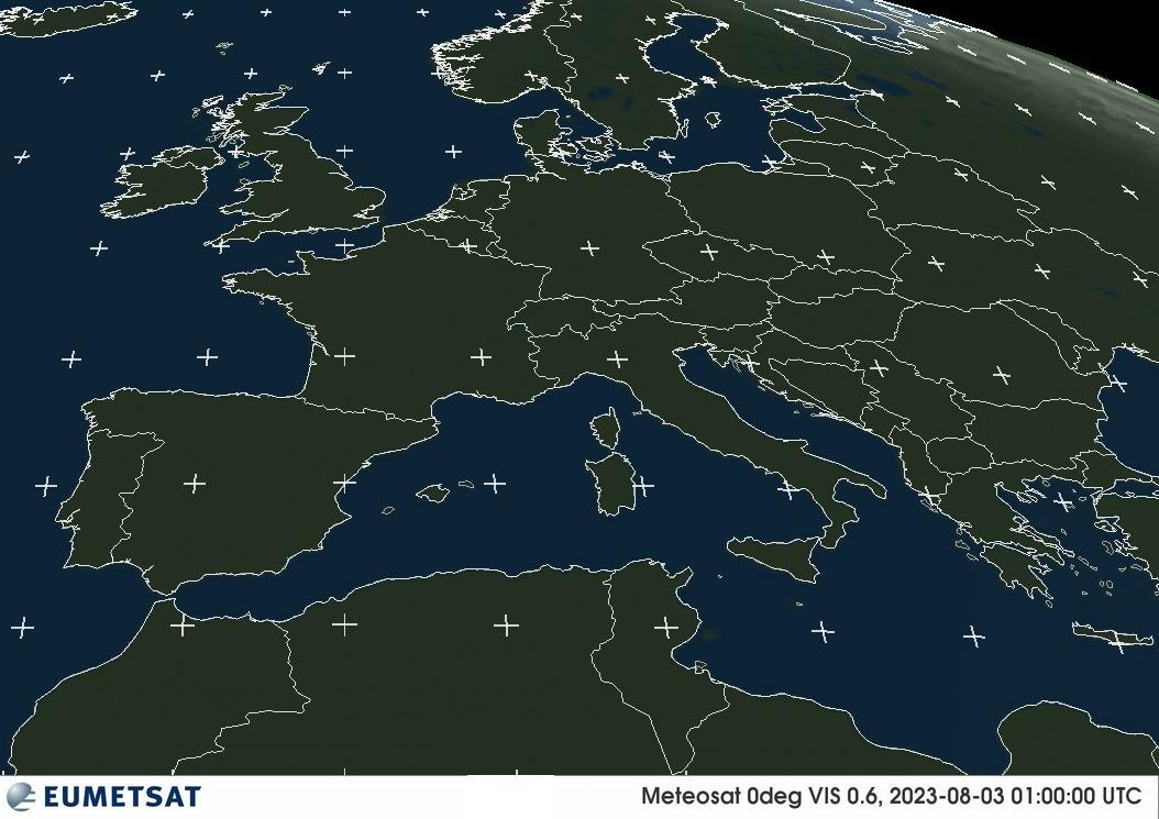 Meteosat - Europe - visible