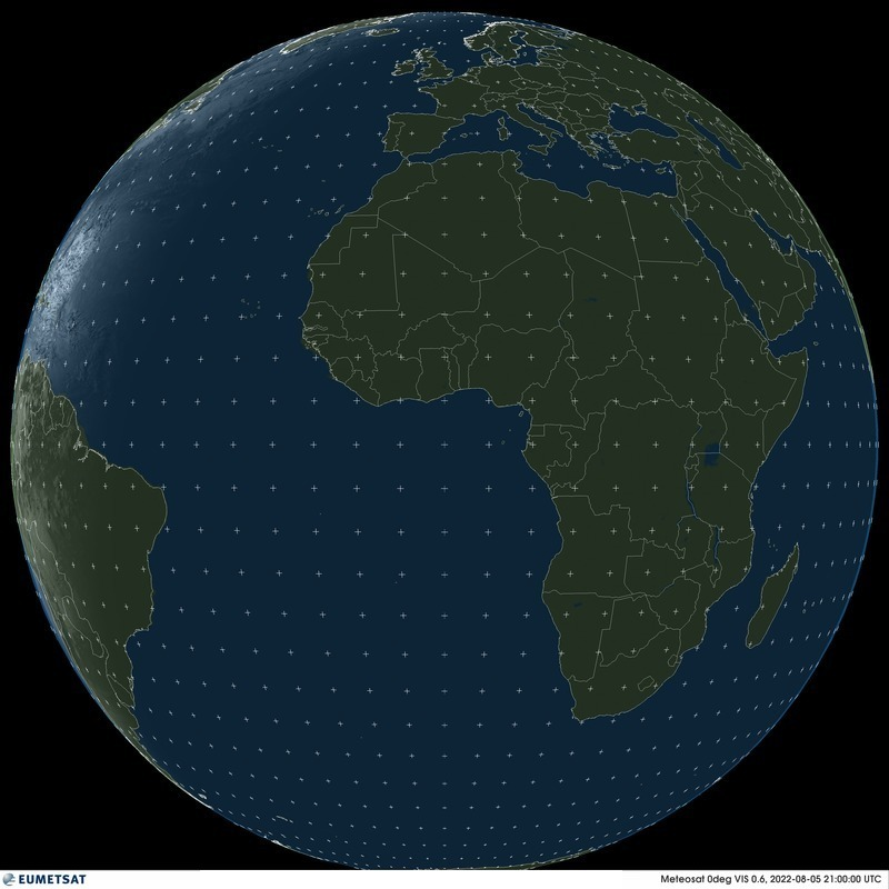 Meteosat 11 - Full disk - visible