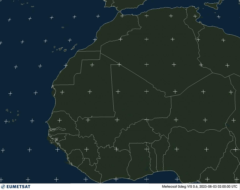 Meteosat - Àfrica Occidental - visible
