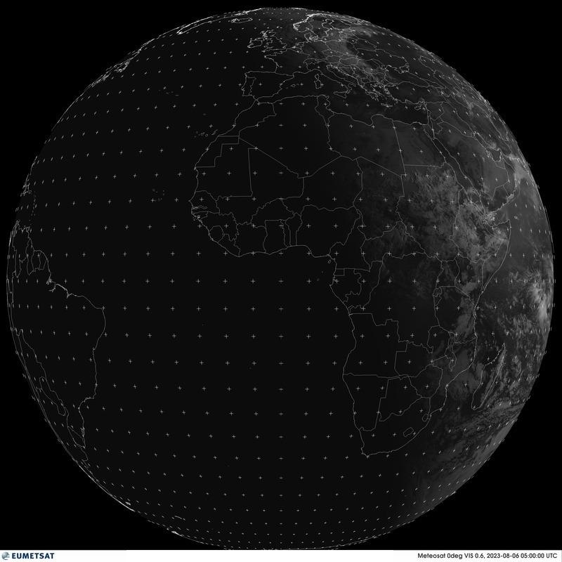 Última imagen completa de la Tierra tomada desde el satélite Meteosat-11 sin infrarrojos